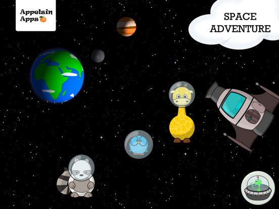 Gigi Space Kids Adventure Screenshots