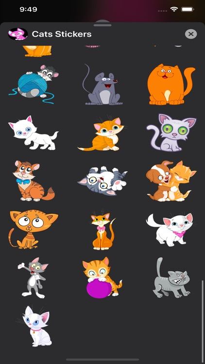 Cats Stickers & Emojis screenshot-4