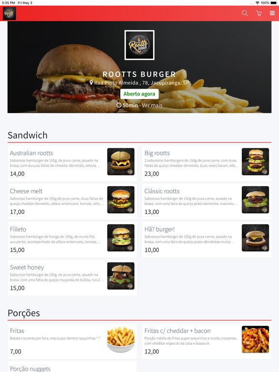 Rootts Burger screenshot #1
