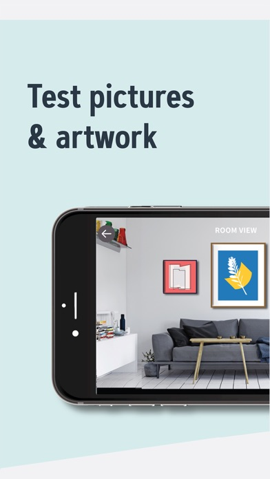 WALLARY: Test Pictures with AR app image