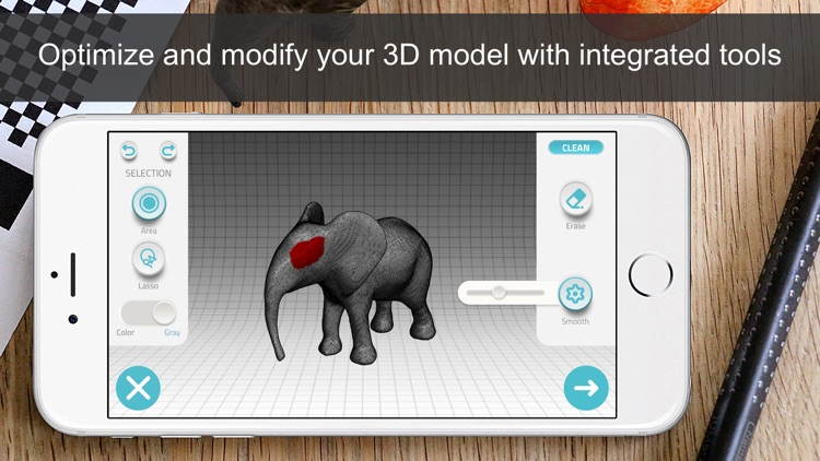 Qlone 3D Scanner by EyeCue Vision Tech