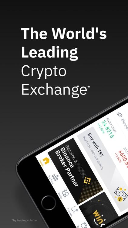 Binance: Buy Bitcoin Securely screenshot-0