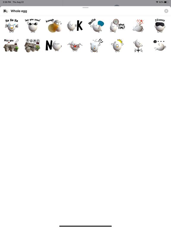 Whole egg screenshot 2