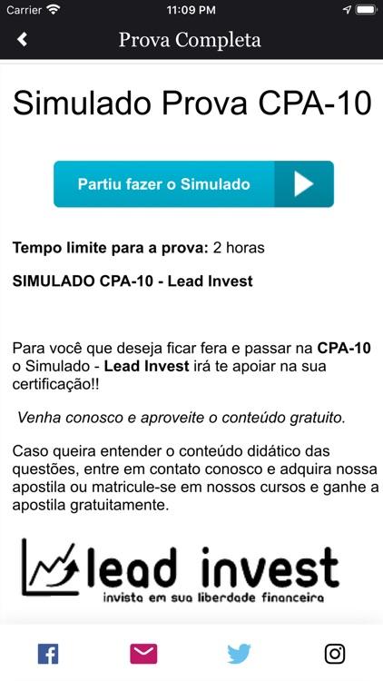 Simulados Lead Invest
