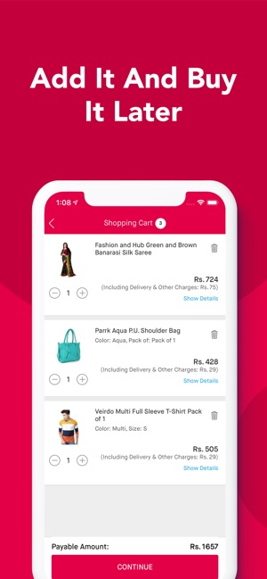 afda4650c14  Snapdeal  Online Shopping App on the App Store