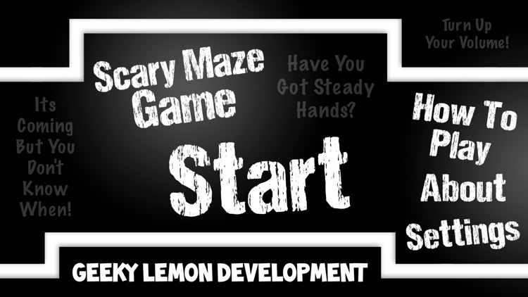 Scary Maze Game screenshot-4