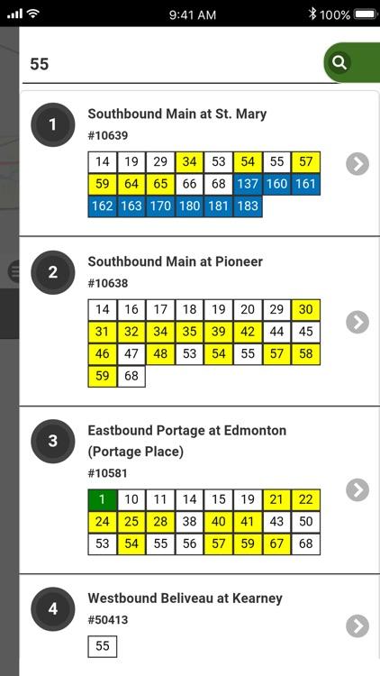 Winnipeg Transit RT - Bus Live screenshot-9