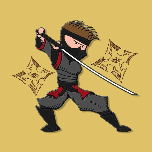 Ninja Samurai Stickers