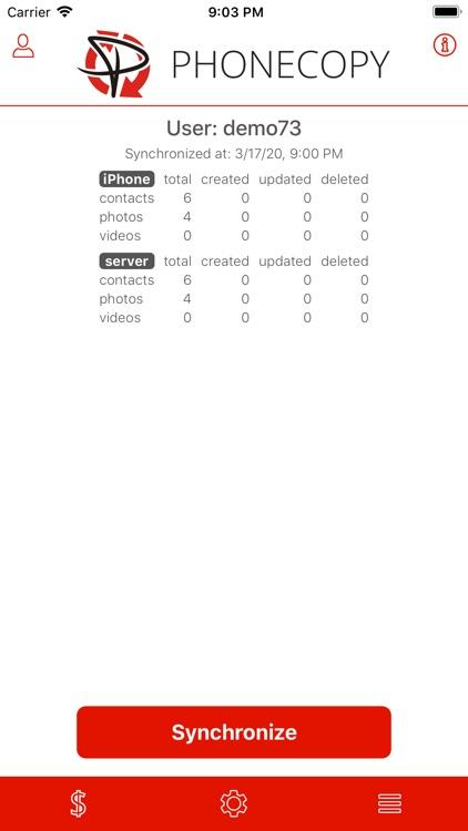 PhoneCopy screenshot-4