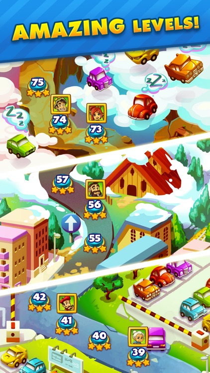 Traffic Puzzle - Match 3 Game screenshot-3