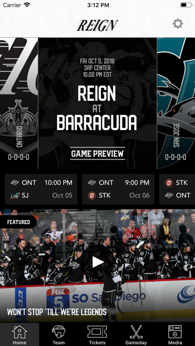 Ontario Reign screenshot one