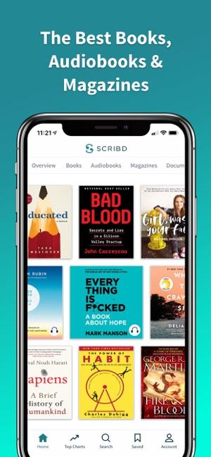 Scribd - audiobooks & ebooks on the App Store