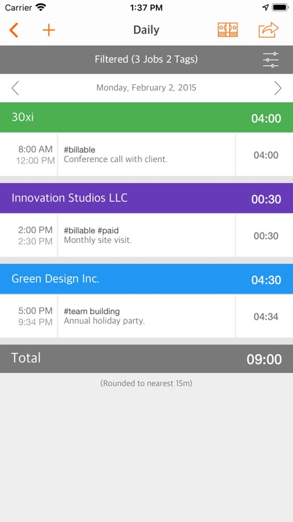 Easy Hours screenshot-5