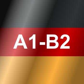 German Test A1 A2 B1 B2 Pro Logo