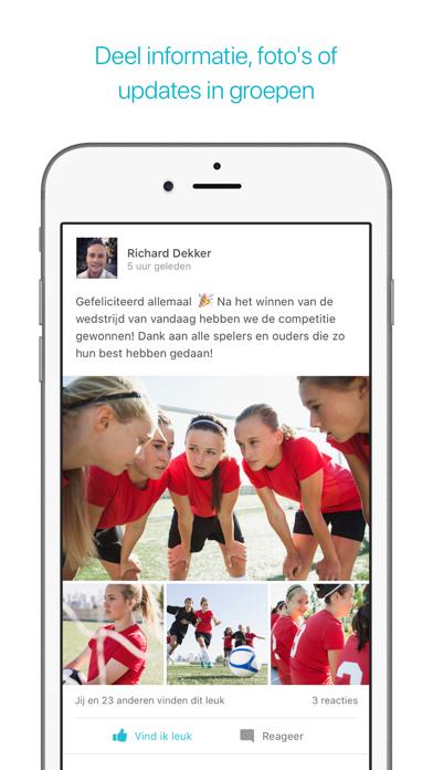 Screenshot for Spond in Netherlands App Store
