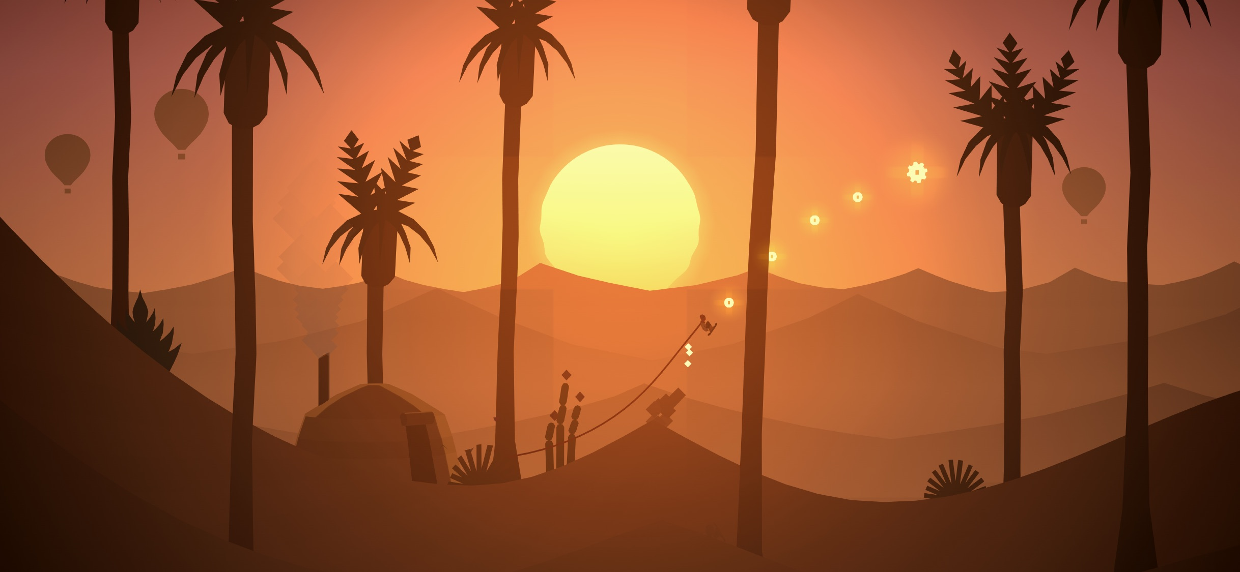 Screenshot do app Alto's Odyssey