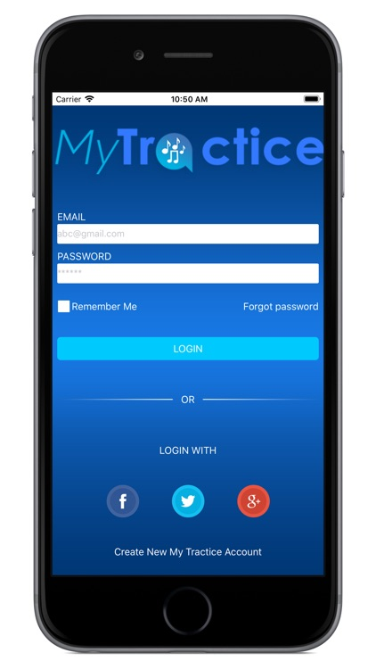 MyTractice: Music Practice App