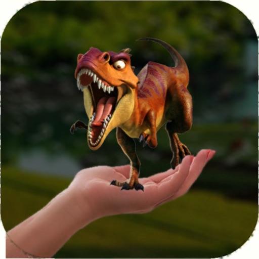 Dinosaur 3D AR icon