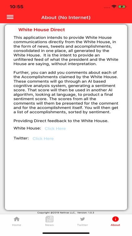 White House Direct screenshot-5