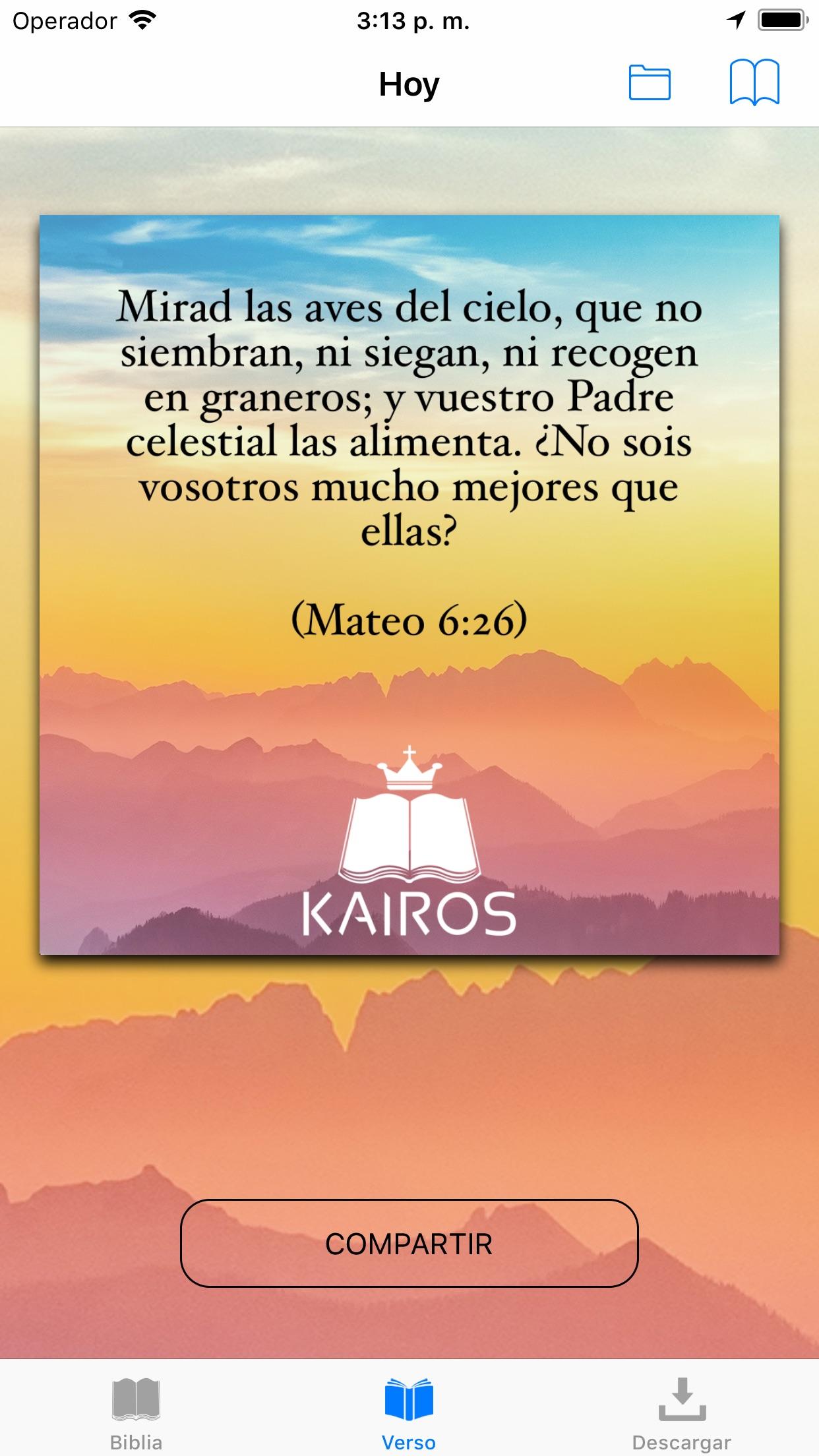 Biblia Reina Valera con Strong Screenshot