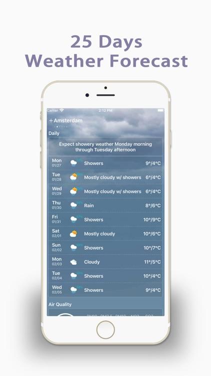 Live Weather-Radar&Forecast