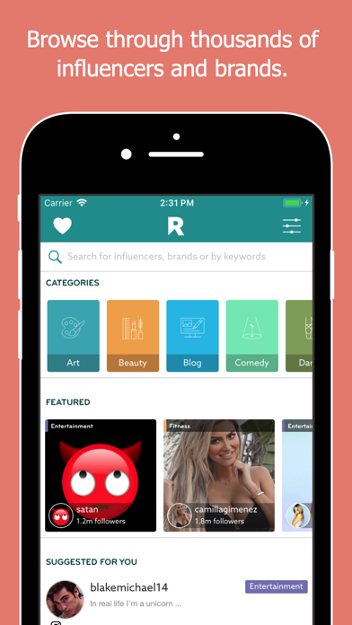 messages.download Rep - Influencer Marketing software
