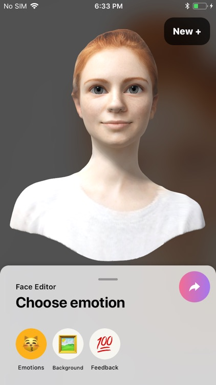 FaceHero - 3D avatar emoji screenshot-7