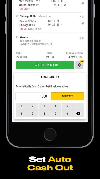 Bwin betting app for iphone world of sport betting marshall