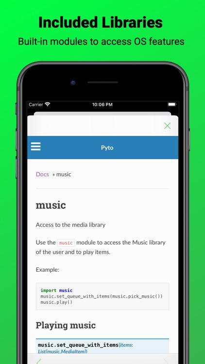 Pyto screenshot-3
