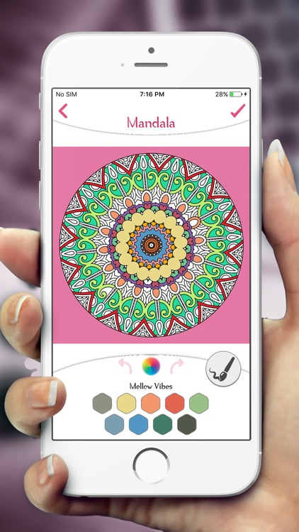 Mandala Coloring Book Pages