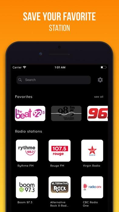 Radio Stations Tuner screenshot two