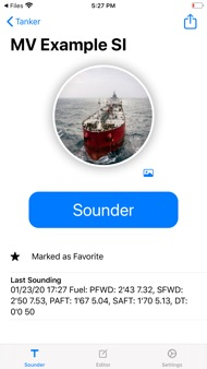 Tanker - The Sounding App iphone images