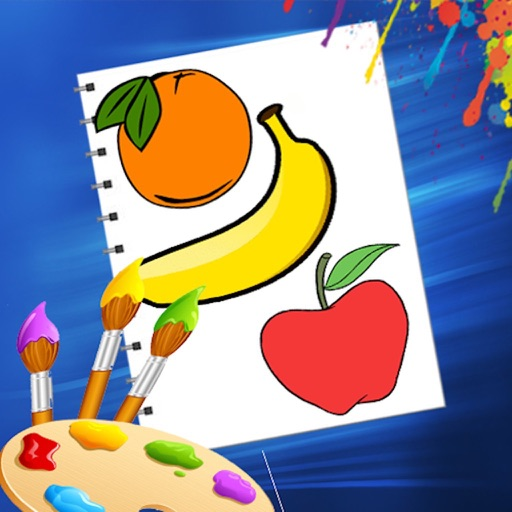 Fruit & Vegetables Coloring icon