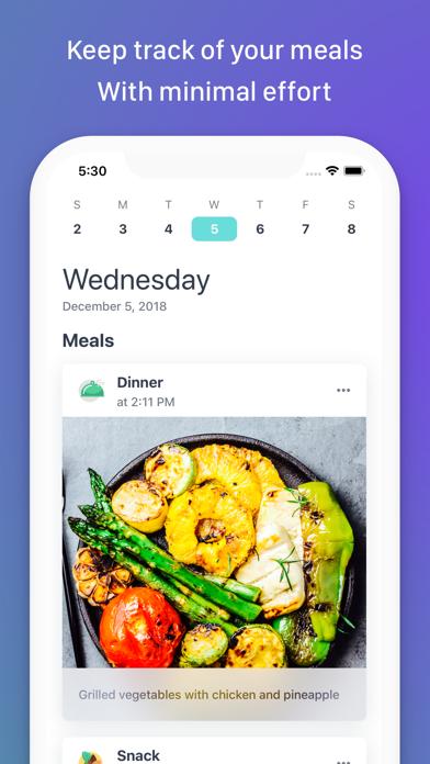 MealSnap: Photo Food Diaryのおすすめ画像1
