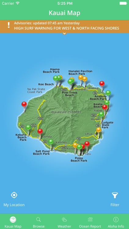 Kauai Beach Guide screenshot-4