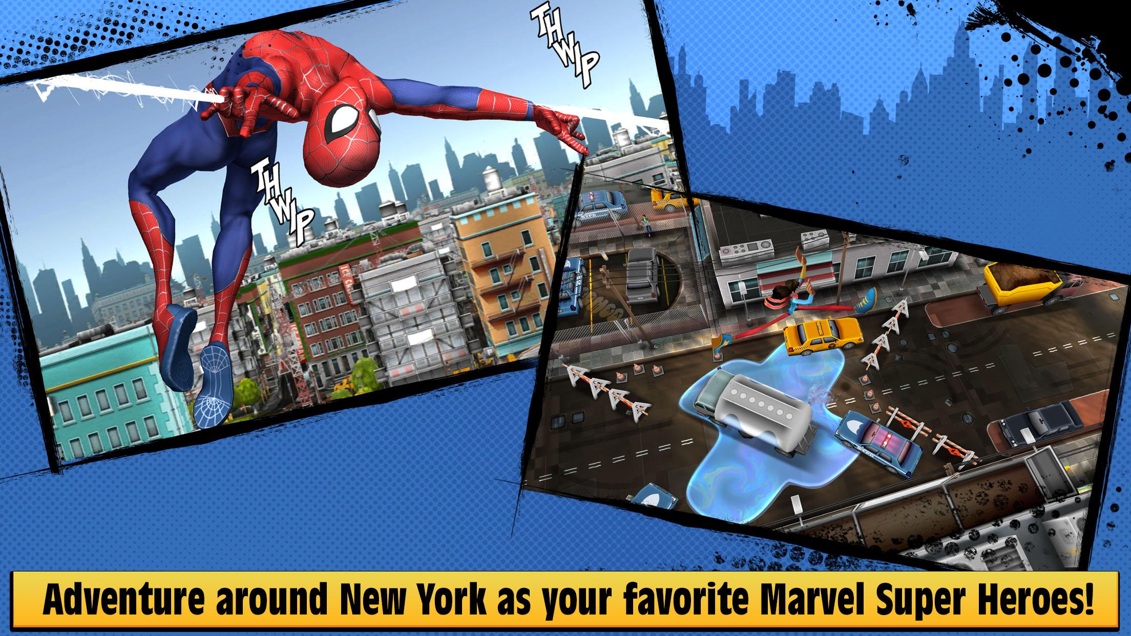 Marvel Hero Tales screenshot 2