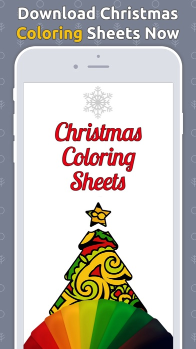 Christmas Coloring Sheets Book 1