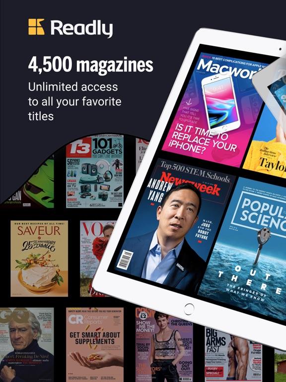 Readly Magazines screenshot