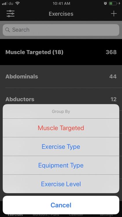 +1 Workout