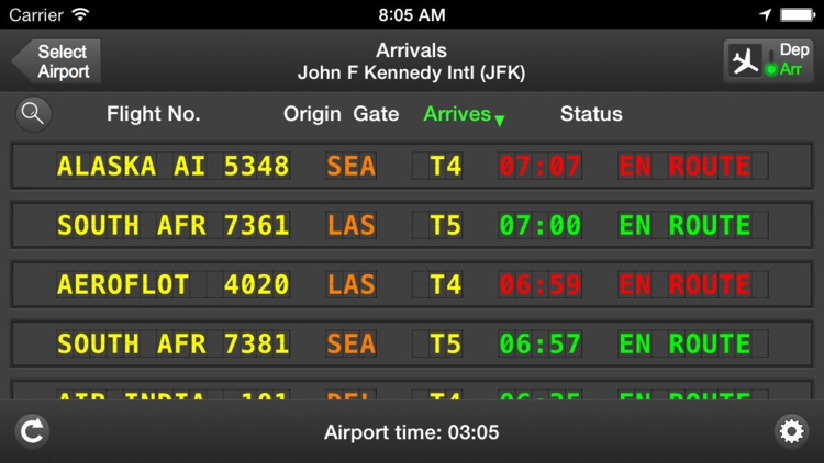 mi Flight Board Plane Tracker screenshot-3