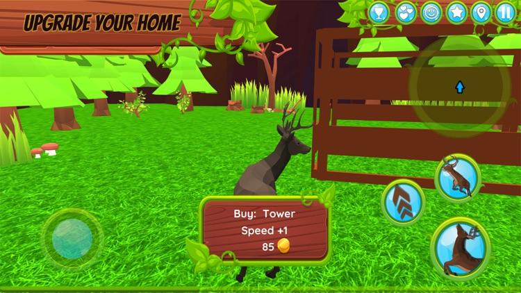 Deer Simulator - Animal Family screenshot-3