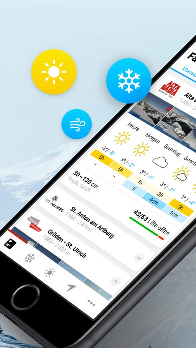 Screenshot #2 pour bergfex/Ski