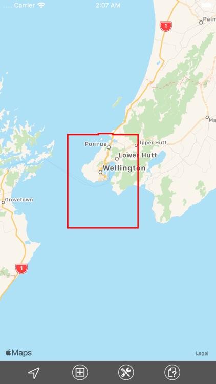 Wellington (New Zealand) GPS screenshot-5