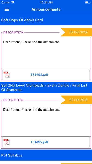 MyClassBoard Parent Portal screenshot 4
