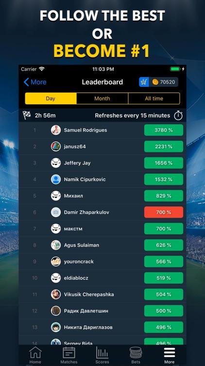 BETUP - Sports Betting Game screenshot-3
