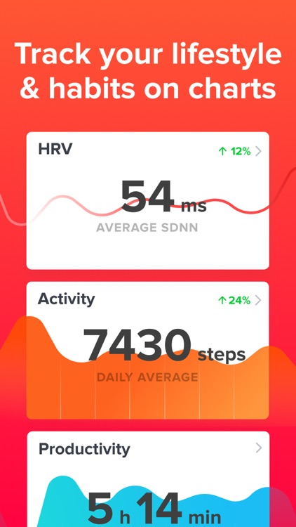 Welltory - heart rate & stress screenshot-3