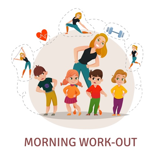 7 Minute Workout Morning Kids