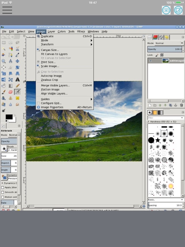 XGimp Image Editor Paint Tool on the App Store