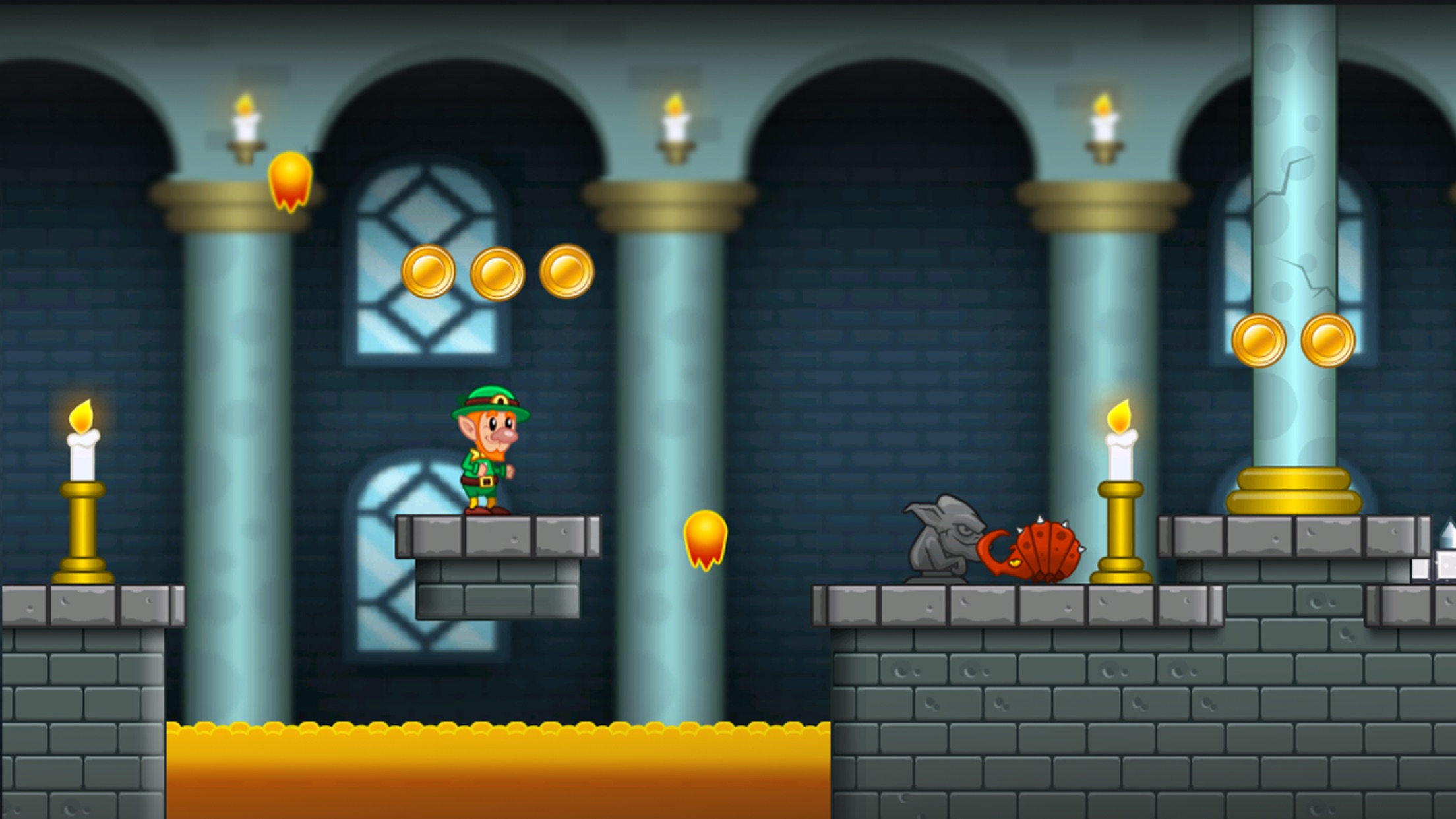 Lep's World - Jump n Run Games Screenshot