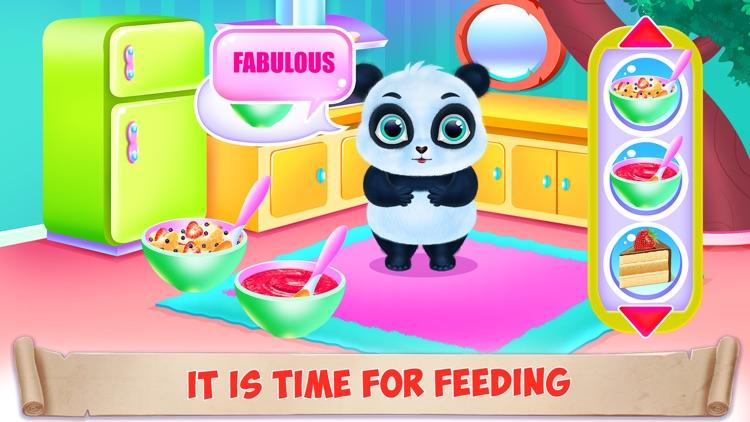 Panda Caring and Dress Up screenshot-5